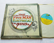 FIVE MAN ELECTRICAL BAND Sweet paradise USA g/f LP LION Records (1973) VG+/EX+
