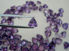 Amethyst trillion  gem 7mm