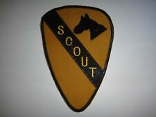 Vietnam War SCOUT With US 1st Cavalry Division Patch