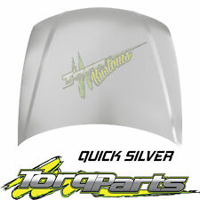 BONNET QUICK SILVER SUIT HOLDEN COMMODORE VY 02-04 HOOD ALL EXEC SS HSV CALAIS