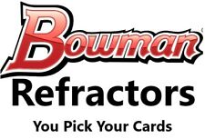 You Pick Your Cards 2010 - 2011 Bowman Chrome Refractors Baseball Card Selection