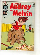 LITTLE AUDREY AND MELVIN # NOV 62 NM+ 75% PRICE CUT