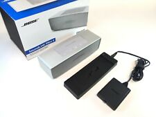 BOSE SOUNDLINK MINI 2 SILVER W/ CHARGER DECK AND POWER SUPPLY