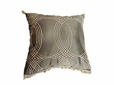 "Elegant Lumbar Silk Pillow 15"" by 15"" # PS 79"