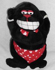 "Animated Valentine 9"" Black Baby Gorilla Dances Sings ""Get Down Tonight' 2000's"