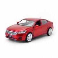 1:43 Scale KIA K7 Sedan Model Car Diecast Gift Toy Vehicle Pull Back Red Kids