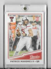2017 CLASSICS ROOKIE CARD RC PATRICK MAHOMES II /299,RED BACK,TEXAS TECH,CHIEFS