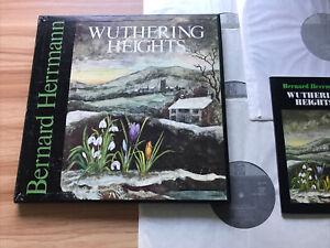 PYE 30173 WUTHERING HEIGHTS *BERNARD HERRMANN* 4 LP BOX SET EX+ / NM