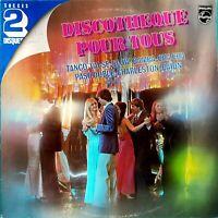 DOUBLE ALBUM 33 TOURS DISCOTHÈQUE POUR TOUS