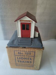 Lionel 125 Whistling Station Used With Box