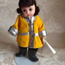 "MADAME ALEXANDER ""FIRE FIGHTER"" WENDY  8"" poseable DOLL GUC DISPAYED ONLY"