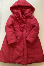 Aletta Couture Übergangmantel Mantel Kapuze Gr. 6 116 Neu Rosa Pink Rüschen