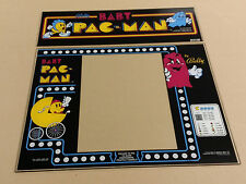 BABY PACMAN Marquee and Bezel Screen Printed on Glass - PA EXCLUSIVE!!!!