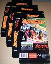 Atari Jaguar 64-Bit Konsole Original 3 X Burnout Spiel Packung Neu PC / n J9052E