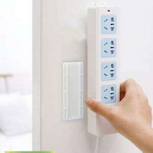 Home Office Power Board Self-Adhensive Wall-mounted Fixer Organizer Holder