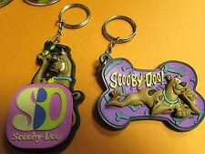 TWO HANNA BARBERA  Scooby Doo  Key Ring Chain