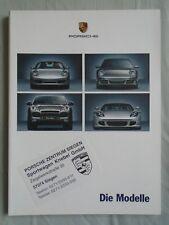 Porsche range brochure Aug 2005 German text