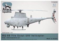 MQ-8B Fire Scout EZ-set, Attack Squadron, ASQ 72020, 1:72