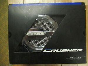 KURYAKYN 9889 Crusher® Maverick Air Cleaner for '99-'16 Twin Cam, Chrome HARLEY