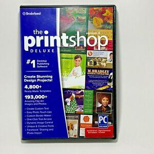 Broderbund The Printshop Deluxe Version 4 Windows Design & Photo Editing