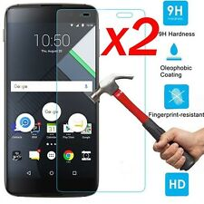 2x Genuine Tempered Glass Screen Protector For BlackBerry DTEK60 Mobile Phone !
