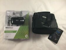 New Vivitar Dvr508 High Definition Digital Video Camcorder with 1.8 Lcd with Bag
