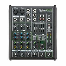 Mackie PROFX4V2 4-Channel Studio / Live Mixer Mixing Desk With Effects Processor