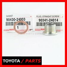 FACTORY TOYOTA SEQUOIA 4RUNNER DIFFERENTIAL DRAIN PLUG & GASKET SET OEM