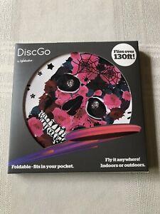 Waboba DiscGo Foldable Frisbee -  Skull Indoor/Outdoor - Flies over 130ft! NEW