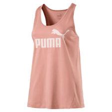 Puma essenziali N° 1 Donna Sport senza maniche Maglia Canotta 12 pesca Beige