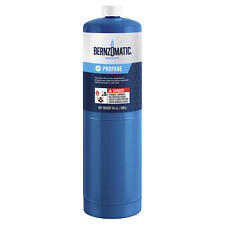 Bernzomatic 14.1oz Disposable Propane Gas Fuel Cylinder Tank Canister