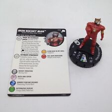 Heroclix The Mighty Thor set Iron Rocket Man #034 Rare figure w/card!