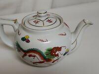 Chinese Red Dragon Tea Pot Vintage T/M 839569