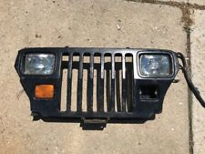 Jeep Wrangler YJ Grille Radiator Support Complete 87-95 Wall Art/ Repair Panel