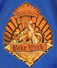 Daytona Bike Week T Shirt Large 2008 Blue Biker