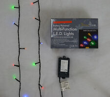 Super-Long 10m Battery Powered Multi-Function 100 LED Multi Colour Lights