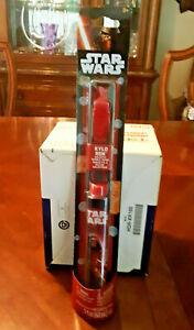 Star Wars KYLO REN Galactic Bubble Wand - NEW