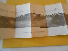 1920 Panorama Vom Eggishorm  ( 2934 m )