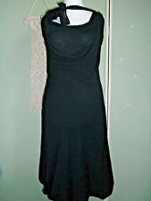 Mais Il est ou le soleil little black dress layered bubble hem size S size 8-10