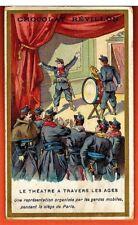 Image - Chromo - Le Théatre - Garde Mobile -Siege de Paris - Révillon - Réf.65