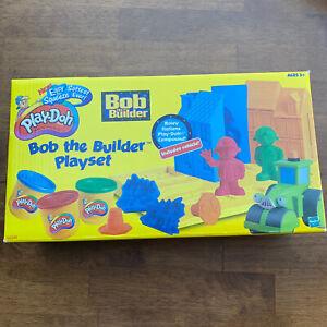 Play-Doh Bob the Builder Playset NEW SEALED NOS 22348 Hasbro Set Rare Kids Toy