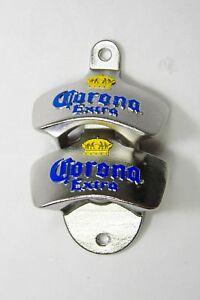 x2 Corona Wall Mounted Bottle Opener Beer Bar Merchandise Man Cave Decor Beers