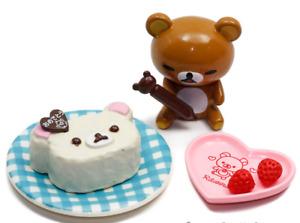 Re-Ment Sanrio 2011 Rilakkuma Relaxed Cooking Set #2 Cake Decoration Mini 1:6