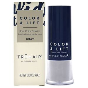 Color and Lift Root Color Powder - Gray by Truhair for Unisex - 0.18 oz Hair ...