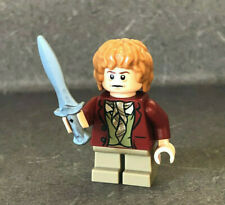Lego BILBO BAGGINS MINIFIGURE #79004 Lord of the Rings LOTR The Hobbit Red Coat