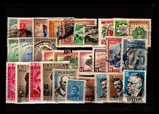 Uruguay 30 Mostly Used, some faults - C2604