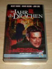 VHS Film - Im Jahr des Drachen - Mickey Rourke - Thriller - Videokassette