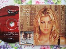Faith Hill ‎– There You'll Be Hollywood Records ‎– W563CD CD Single