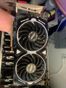 MSI Radeon Armor RX 580 4GB GDDR5 Graphics Card (RX 580 ARMOR 4G OC)