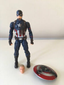 Marvel Legends 6in Captain America Iron Man Civil War 3 Pack Hasbro 2016 New NR